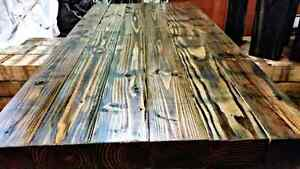 """New rustic solid Fir  5ft-8"""" dining table"""
