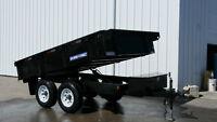 NEW SURETRAC 6X10 Dump Trailer 10K GVW - WE LEASE