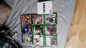 Various Xbox one and Gamecube games for sale