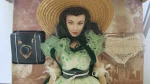 Franklin Mint Scarlett doll from GWTW+ 1 extra outfit