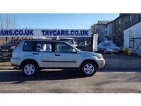 TAYCARS GENUINE SALE!! 2005/55 NISSAN XTRAIL 2.2 DIESEL, LOW MILES NOW ONLY £2495