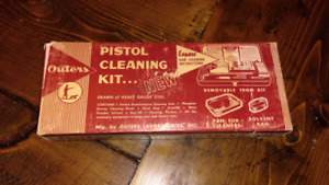 Vintage Outers pistol cleaning kit