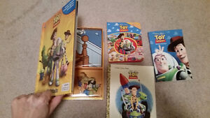 Toy Story book set + figurines