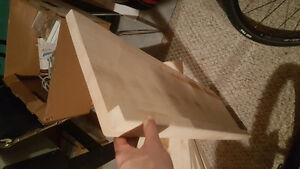 Solid maple stair planks