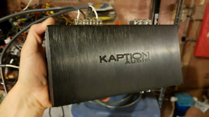 Kaption Audio DZ-300.1, 2 channel, 300 watt amplifier