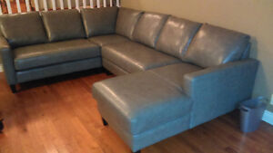 LEATHER SECTIONAL - $5000 (REG $7500)