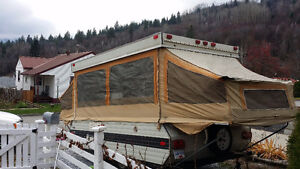 10 ft Tent Trailer
