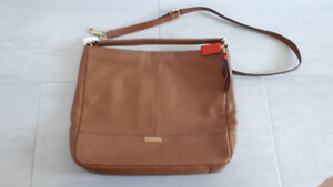 Brand New COACH Leather Convertible Crossover Purse with Tag