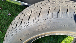215 75 15 Goodyear snow tires