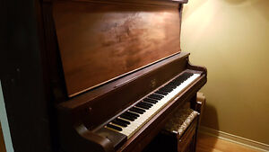 Made in Canada, solid upright piano