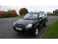 Hyundai Tucson CDX 2009,2.0 CRDi,Alloys,Leather,Cruise Control,Park Sensors,Very Clean