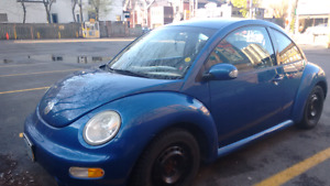 V.W Beetle Turbo 2003 As is
