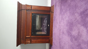 COLEMAN electric fireplace with mantel