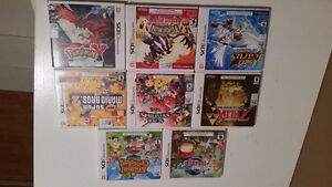 3ds games 20.00 each 50.00 for 3