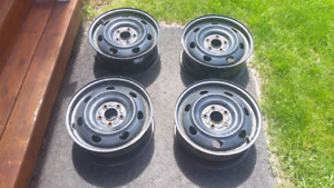 4 x 16 inch steel wheels for sale
