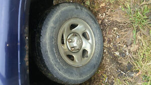 (2) wild country 245/75/16 tires