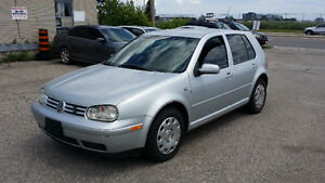 2003 Volkswagen Golf TDI 5SPD ***CERTIFIED ***