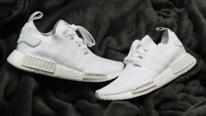 Adidas NMD R1 Japan Triple White Size 12 DEADSTOCK $350.00