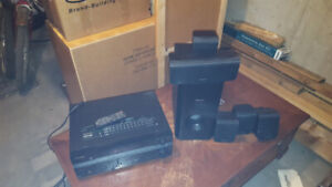 Complete Pioneer home theatre set