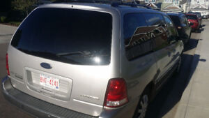 2005 Ford Freestar - Fully Loaded, Accident Free, Leather Seats