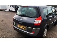 Renault grand since 1.6 patrol 7 seater manual 55k full service history