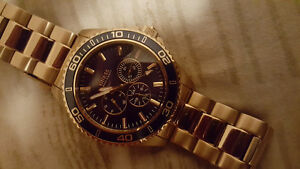 Rolex style Guess watch men's