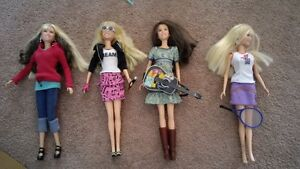 4 Music & Movie Barbies + Accessories ++