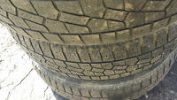 """14"""" Winter Rims Summer 4 bolt x 100 with Winter Tires"""