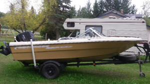 16.5 Campion Runabout w/ 1995 Merc Force 120 hp