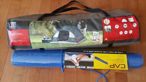Yoga Mat and Camping tent