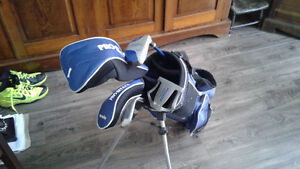 Childs left handed golf club set