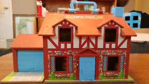 SOLD - Fisher Price Tudor House
