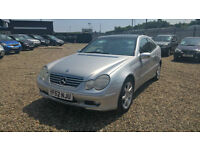 Mercedes-Benz C230 Kompressor 1.8 auto 2003MY SE