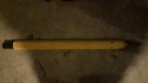 Giant Pencil - Cool 70's Folk Art