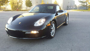 2005 PORSCHE BOXSTER 2.7 LIT BLACK ON BLACK CONVERTIBLE