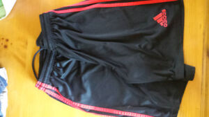 Adidas shorts 2 pairs Youth Size small for gym & sports