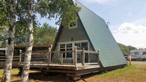 Unique A-frame Cumberland Bay....Grand Lake