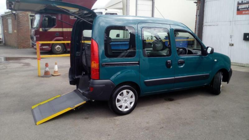2006 Renault Kangoo Wheelchair Disabled Accessible Vehicle In