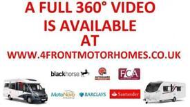 2015 ELDDIS MAJESTIC 125 MOTORHOME 2 BERTH 4 TRAVELLING SEATS 2.2 DIESEL 6 SPEED
