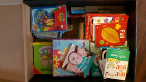 Box of baby\toddler books