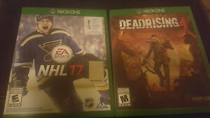 NHL 17 and Deadrising 4