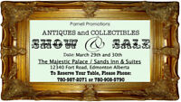 Antique and Collectibles Show & Sale March 29-30th