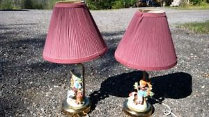 boy and girl table lamps