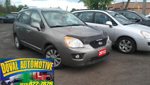 2012 Kia Rondo, one owner, clean carproof, automatic, bluetooth