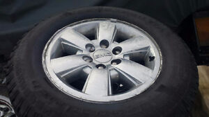 "18"" OEM GMC Sierra 1500 Factory Rims and Tires"