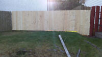 Fence repair / New fence construction
