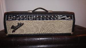1966 Fender Dual Showman w/ Custom Cabinet