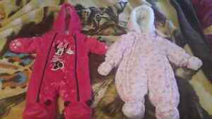 Infant snow suits