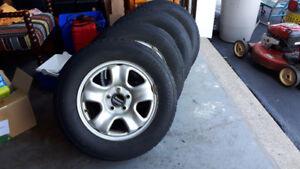 Honda CRV Winter Rims & Tires