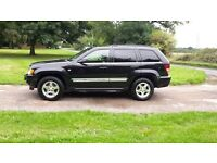 2006 06 Jeep Grand Cherokee 3.0 CRD Fully Loaded SatNav
